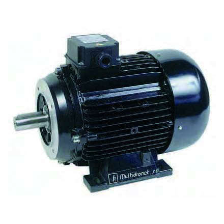 MOTOR ELÉCTRICO TRIFASICO, 3000 RPM, 4 HP, ADAPTABLE A MSD-40 EJE 20 MM